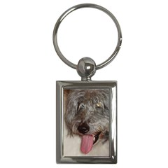 Old English Sheepdog Key Chains (Rectangle)