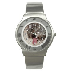 Old English Sheepdog Stainless Steel Watch