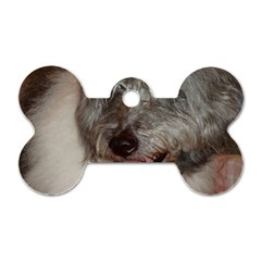 Old English Sheepdog Dog Tag Bone (One Side)