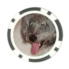 Old English Sheepdog Poker Chip Card Guard