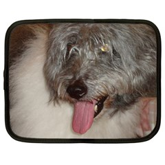 Old English Sheepdog Netbook Case (Large)