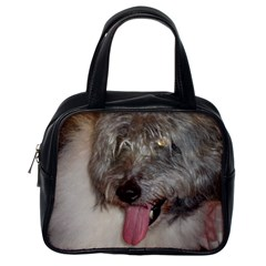 Old English Sheepdog Classic Handbags (One Side)