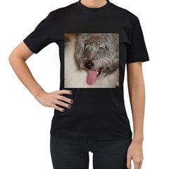 Old English Sheepdog Women s T-Shirt (Black)