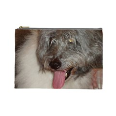 Old English Sheepdog Cosmetic Bag (Large)