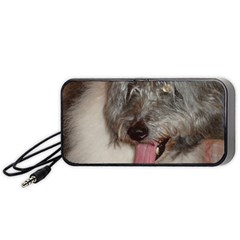 Old English Sheepdog Portable Speaker (Black)