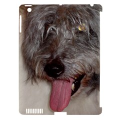 Old English Sheepdog Apple iPad 3/4 Hardshell Case (Compatible with Smart Cover)