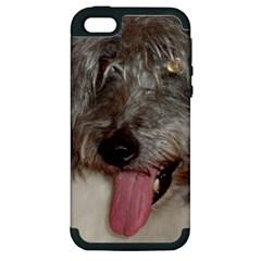 Old English Sheepdog Apple iPhone 5 Hardshell Case (PC+Silicone)