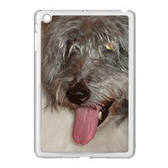 Old English Sheepdog Apple iPad Mini Case (White)