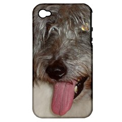 Old English Sheepdog Apple iPhone 4/4S Hardshell Case (PC+Silicone)