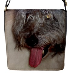 Old English Sheepdog Flap Messenger Bag (S)
