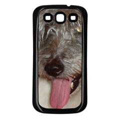Old English Sheepdog Samsung Galaxy S3 Back Case (Black)