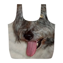 Old English Sheepdog Full Print Recycle Bags (L)