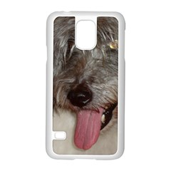 Old English Sheepdog Samsung Galaxy S5 Case (White)
