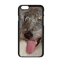 Old English Sheepdog Apple iPhone 6/6S Black Enamel Case