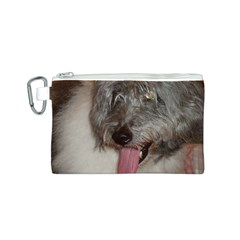 Old English Sheepdog Canvas Cosmetic Bag (S)