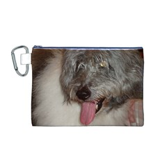 Old English Sheepdog Canvas Cosmetic Bag (M)