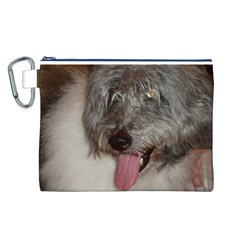 Old English Sheepdog Canvas Cosmetic Bag (L)