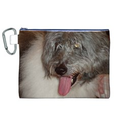 Old English Sheepdog Canvas Cosmetic Bag (XL)