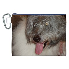Old English Sheepdog Canvas Cosmetic Bag (XXL)