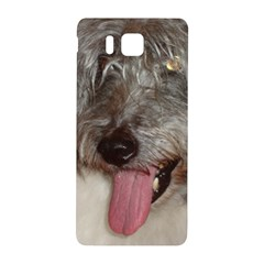 Old English Sheepdog Samsung Galaxy Alpha Hardshell Back Case