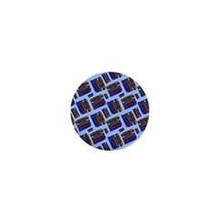 Abstract Pattern Seamless Artwork 1  Mini Magnets
