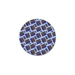 Abstract Pattern Seamless Artwork Golf Ball Marker (10 Pack)