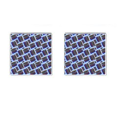 Abstract Pattern Seamless Artwork Cufflinks (square)