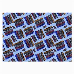 Abstract Pattern Seamless Artwork Large Glasses Cloth