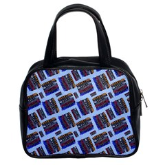 Abstract Pattern Seamless Artwork Classic Handbags (2 Sides)