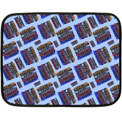 Abstract Pattern Seamless Artwork Fleece Blanket (Mini)