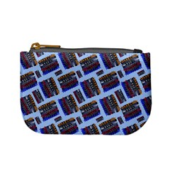Abstract Pattern Seamless Artwork Mini Coin Purses