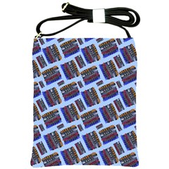 Abstract Pattern Seamless Artwork Shoulder Sling Bags