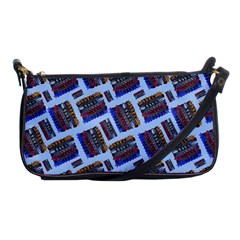 Abstract Pattern Seamless Artwork Shoulder Clutch Bags