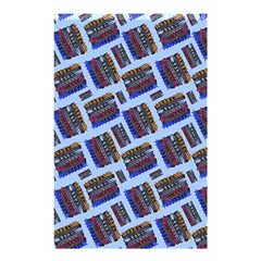Abstract Pattern Seamless Artwork Shower Curtain 48  X 72  (small)