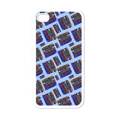 Abstract Pattern Seamless Artwork Apple Iphone 4 Case (white)