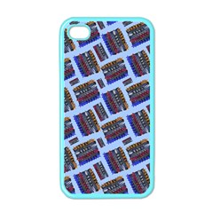 Abstract Pattern Seamless Artwork Apple Iphone 4 Case (color)
