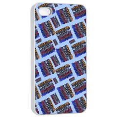 Abstract Pattern Seamless Artwork Apple Iphone 4/4s Seamless Case (white)