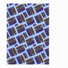 Abstract Pattern Seamless Artwork Small Garden Flag (two Sides)