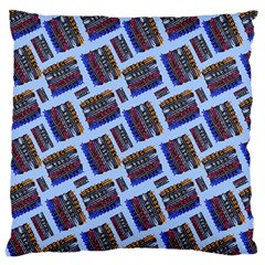 Abstract Pattern Seamless Artwork Large Cushion Case (one Side)