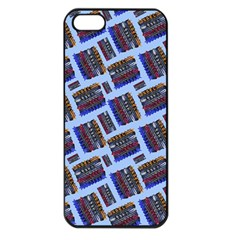 Abstract Pattern Seamless Artwork Apple Iphone 5 Seamless Case (black)