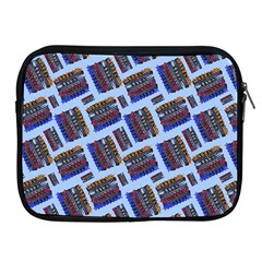 Abstract Pattern Seamless Artwork Apple Ipad 2/3/4 Zipper Cases
