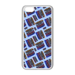 Abstract Pattern Seamless Artwork Apple Iphone 5c Seamless Case (white)