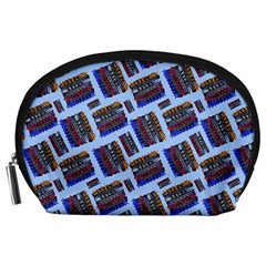 Abstract Pattern Seamless Artwork Accessory Pouches (large)