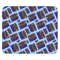 Abstract Pattern Seamless Artwork Double Sided Flano Blanket (small)