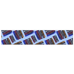 Abstract Pattern Seamless Artwork Flano Scarf (Small)