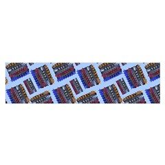 Abstract Pattern Seamless Artwork Satin Scarf (oblong)