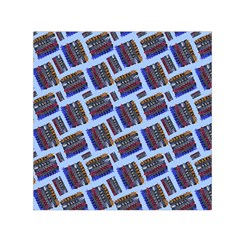 Abstract Pattern Seamless Artwork Small Satin Scarf (square)