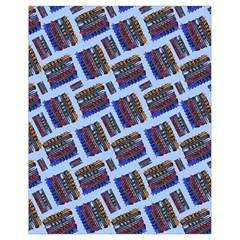 Abstract Pattern Seamless Artwork Drawstring Bag (Small)