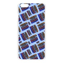 Abstract Pattern Seamless Artwork Apple Seamless iPhone 6 Plus/6S Plus Case (Transparent)