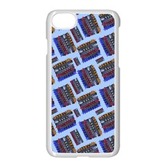 Abstract Pattern Seamless Artwork Apple Iphone 7 Seamless Case (white)